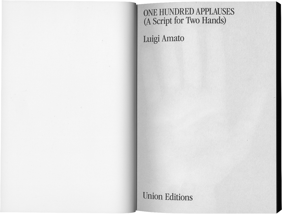 UNION EDITIONS Luigi Amato